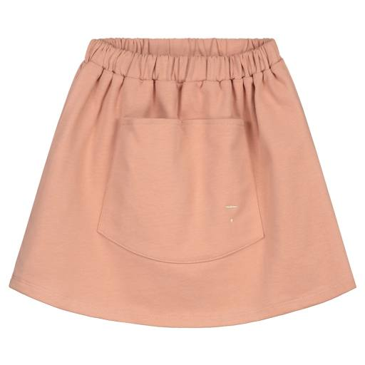 """Gray Label -Rock """"Front Pocket Skirt"""", rustic clay"""