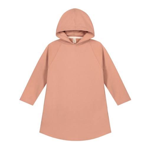 """Gray Label - Kapuzenkleid """"Hooded Dress"""", rustic clay"""