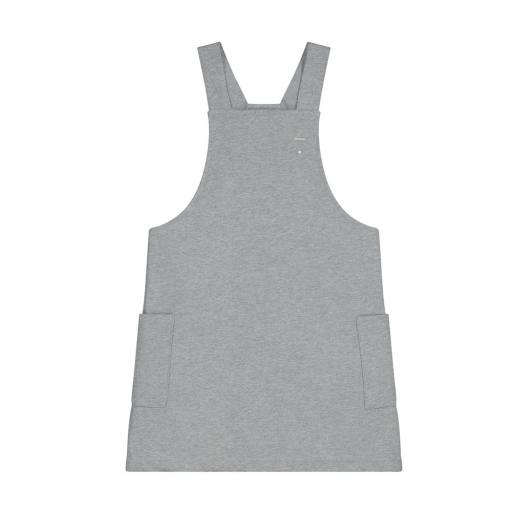 Gray Label - Dungaree Dress, grey melange