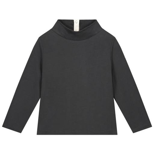 "Gray Label - Pullover ""High Neck Sweater"", nearly black"