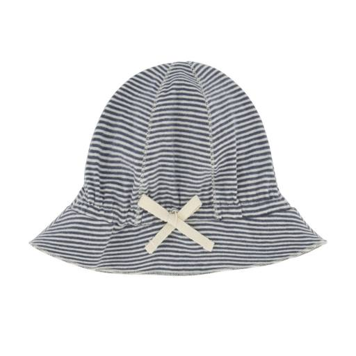 Gray Label - Baby Sun Hat, blue grey/cream