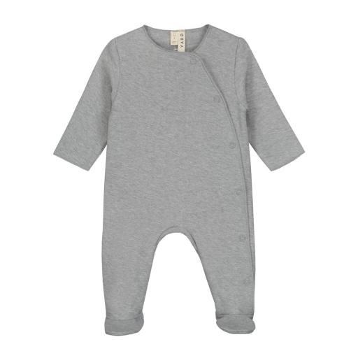"""Gray Label - Baby-Strampler """"Newborn Suit"""", grey melange"""