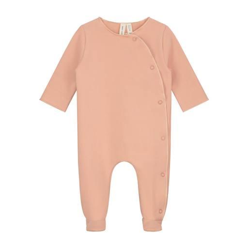 "Gray Label -Baby-Strampler ""Newborn Suit"", rustic clay"