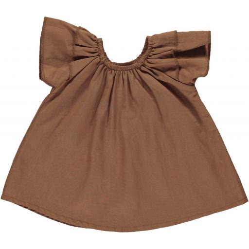 "Gro Company -Baby Kleid ""Louise"", tobacco"
