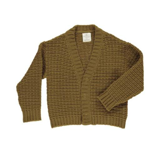 "Gro Company -Woman Strickcardigan ""Jytte Cardigan"", pine brown"