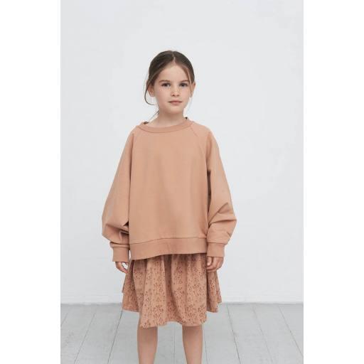 """Gro Company - Sweatshirt """"Nini"""", terracotta"""