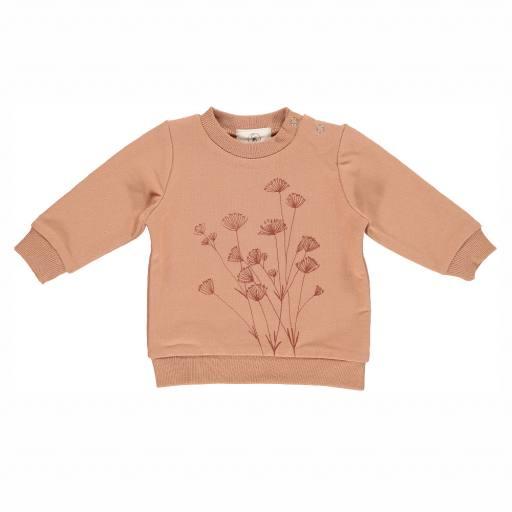"Gro Company - Baby-Sweatshirt ""Venus"", terracotta"