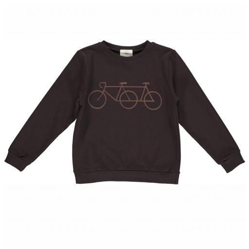 "Gro Company - Sweatshirt ""Mads"", black brown"
