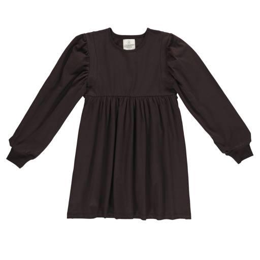 "Gro Company - Jersey Dress ""Noma"", black brown"