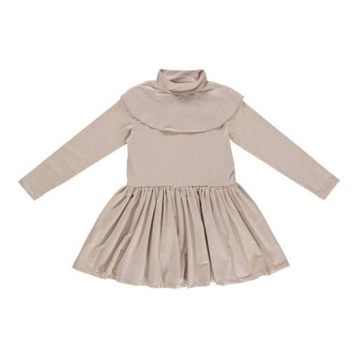 "Gro Company - Gro Pre Kleid ""Fiona"", mat gold lurex"