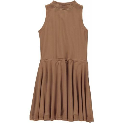 "Gro Company -Kleid ""Ebba Sea Dress"", tobacco"