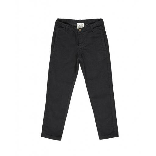 "GRO COMPANY - Cropped Pant ""Bruno"", black"