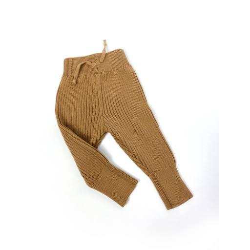 Hejlenki - Knit Leggings, gold earth
