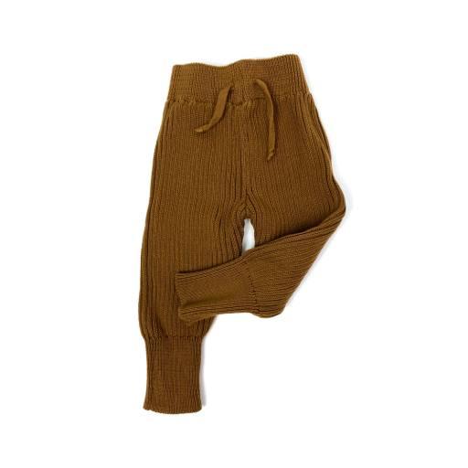 Hejlenki - Knit Leggings, hazelnut