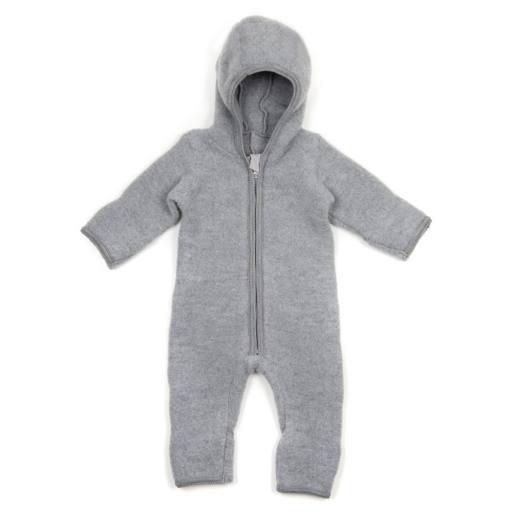 "Huttelihut - Baby-Fleeceanzug ""Allie"", grey"