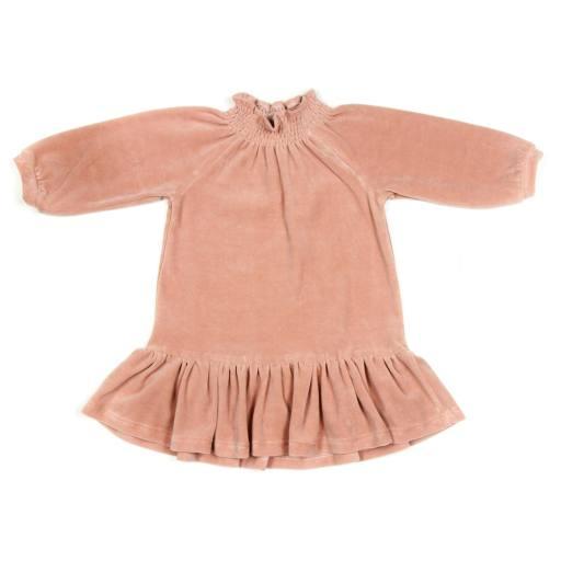 """Huttelihut -Kleid """"Nova Dress Velours"""", terracotta"""