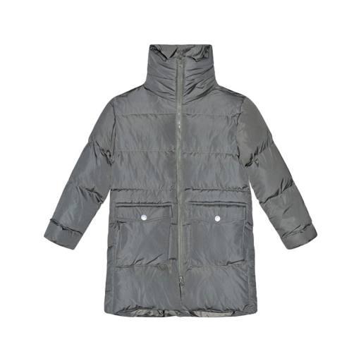 "I dig denim -Winterjacke ""Clay Long Puffer Jacket"", dark-green"