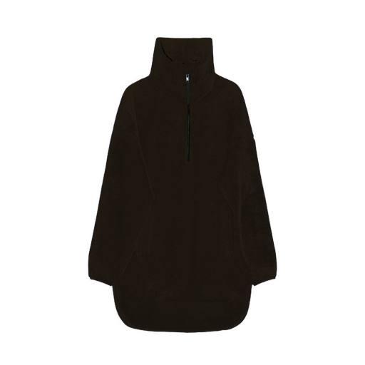 "I dig Denim - Woman Jacke ""Clou Oversized Pile Jacket"", black"