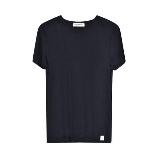 """I dig denim -Woman T-Shirt """"River"""", black"""