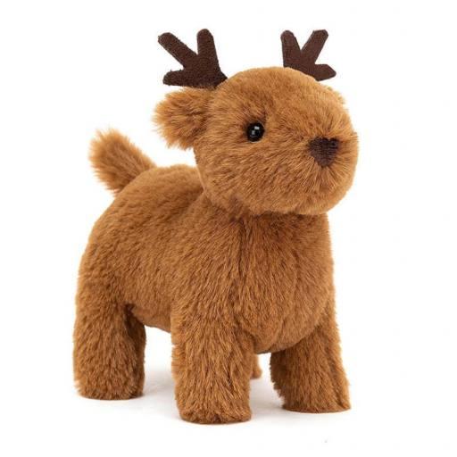 "Jellycat - Kuscheltier ""Diddle Reindeer"", 12cm"