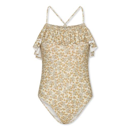 Konges Slojd - Peony Mommy Swimsuit, orangery beige
