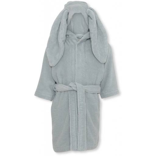 "Konges Sløjd - Kinder-Bademantel ""Terry Bathrobe"", french blue"