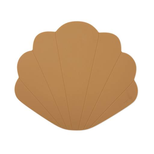 "Konges Sløjd - Tischset ""Silicone Placemat Calm"", terra cotta"