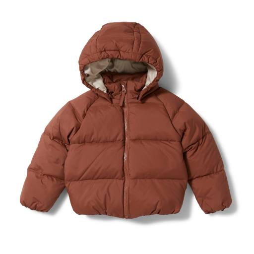 "Konges Sløjd - Daunenjacke ""Down Jacket"", choco bean"
