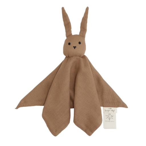 "Konges Sløjd - Schnuffeltier ""Sleepy Rabbit"" almond"
