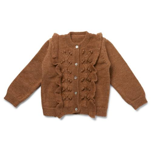 "Konges Sløjd - Strickjacke ""Sienna"", almond"