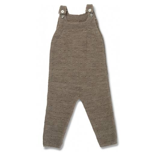 "Konges Sløjd - Overall ""Milly Onesie"", paloma brown"
