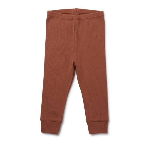 "Konges Sløjd - Leggings ""Siff"", choco bean"