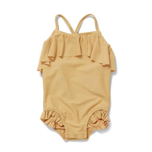 """Konges Sløjd - Badeanzug """"Manuca-Swimsuit"""", orange sorbet"""