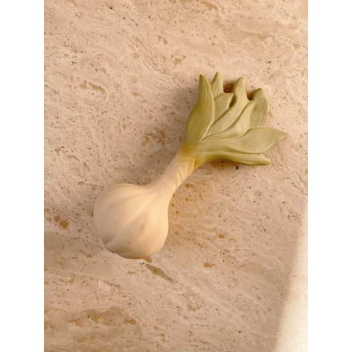 "Konges Sløjd - Beißring ""Teeth Soother Vegetables'', spring onion"