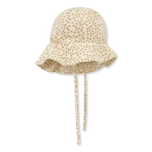 "Konges Sløjd - Sonnenhut ""Pilou Sun Hat"", buttercup yellow"
