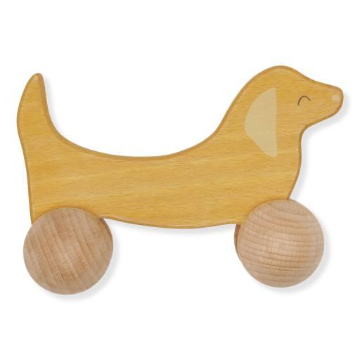 """Konges Sløjd -Roll-Spielzeug """"Rolling dog"""""""