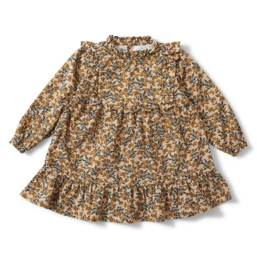 "Konges Sløjd - Kleid ""Willow Dress"", orangery beige"