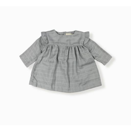 "Lebôme - Blouse ""Ivy"", light grey"