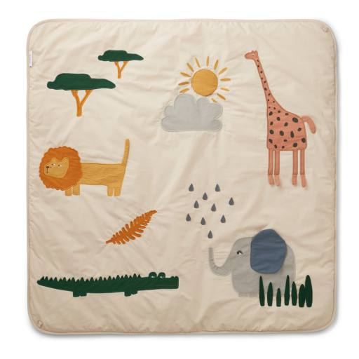 "Liewood - Baby-Activity-Decke ""Glenn"", safari sandy mix"
