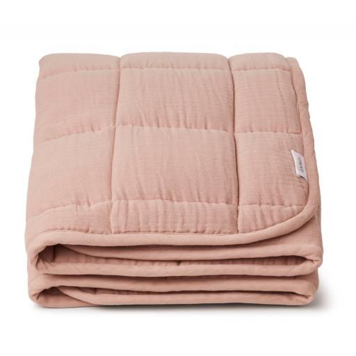 "Liewood -Tagesdecke ""Mette Quilted Blanket"", rose"
