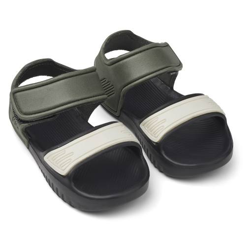 "Liewood - Sandalen ''Blumer Sandals"", hunter/black mix"