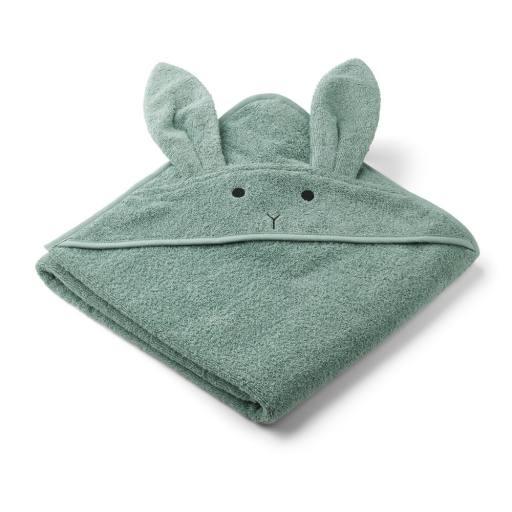 "Liewood - Bio-Badehandtuch ""Augusta hodded towel rabbit'', peppermint"