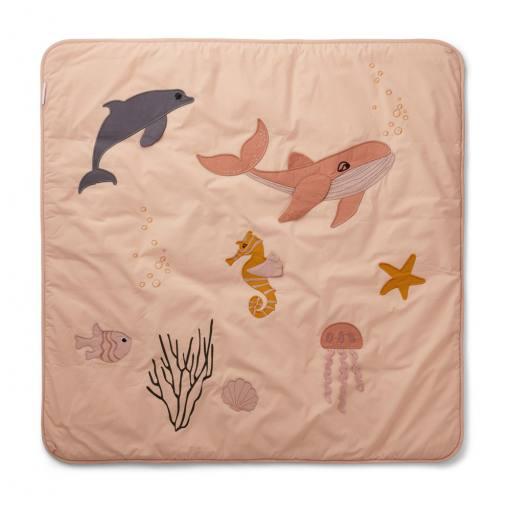 "Liewood - Baby-Activity-Decke ""Glenn"", sea creature rose mix"