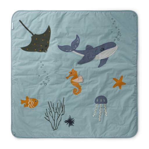 "Liewood- Baby-Activity-Decke ""Glenn"", sea creature mix"