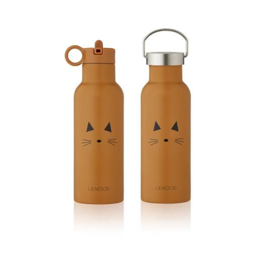 "Liewood -Trinkflasche ""Neo Water Bottle"", cat mustard"