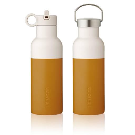 """Liewood -Trinkflasche """"Neo Water Bottle"""", mustard / sandy mix"""