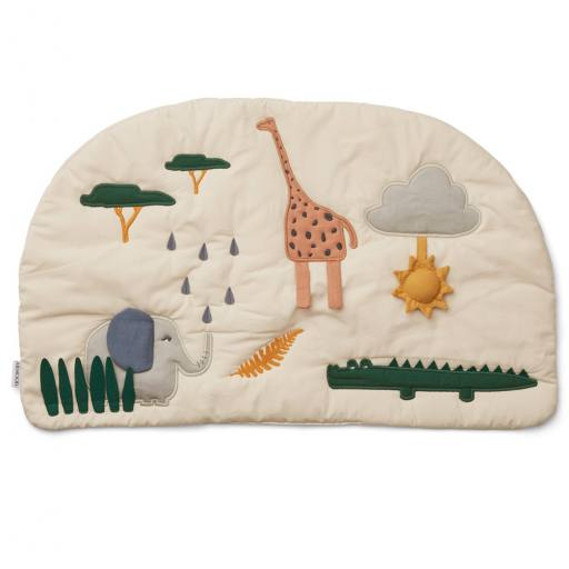 "Liewood - Baby-Activity-Decke ""Sofie"", safari sandy mix"