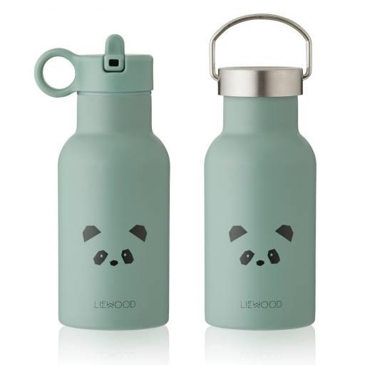 Liewood - Anker Water Bottle, panda peppermint