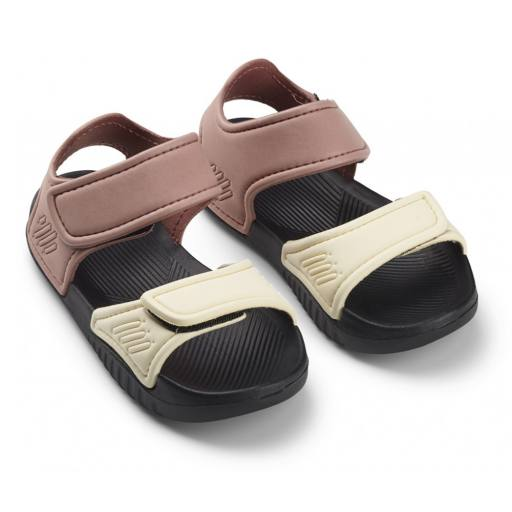 "Sandalen ''Blumer Sandals"", rose/black mix"
