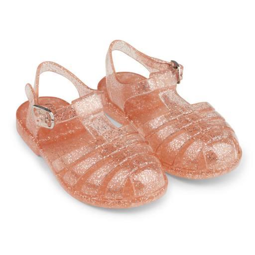 Sandalen ''Bre Sandals'', glitter peach